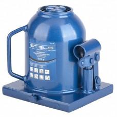 Домкрат бутылочный гидравлический телескопический, 10 т, h подъема 170–430 мм// STELS 51119