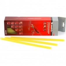 Термоклей (стержни клеевые) 11 мм, L-300 мм, жёлтый// MATRIX 930743