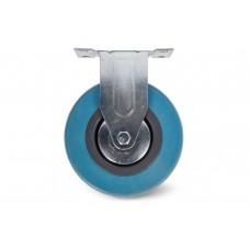 Колесо аппаратное неповоротное (серая резина) FCG 25 (ф50мм)