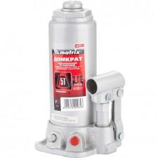 Домкрат бутылочный 5 т, h подъема 216–413 мм// MATRIX MASTER 50721