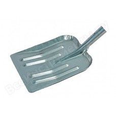 Лопата снеговая 380*400 без черенка стальная оцинков 61536 d-40