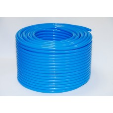 Пневмотрубка 6*8 PU полиуретановая (10 атм) голубая (цена за 1м)
