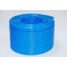 Пневмотрубка 8*12 PU полиуретановая (8 атм) голубая (цена за 1м)