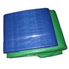 """Тент """"Тарпаулин"""", полотно 2х50 120 г/м2, зеленый (цена за 1 пог.м) (цена за 1 пог.м)"""