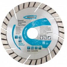 Диск алмазный 125*22,2мм, турбо-сегментный, сухое резание // GROSS 73021