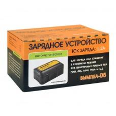 Зарядное устройство ВЫМПЕЛ 05 для АКБ 12V (1.2A) автомат 220V ОРИОН /1/20
