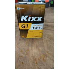Масло Kixx G1 SN/CF 5W40 (4 л) метал.канистра