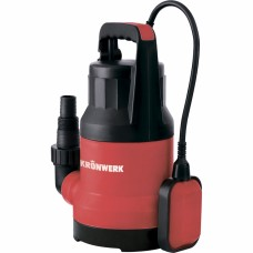 Дренажный насос KP600, 600 Вт, подъем 8 м, 10000 л/ч// Kronwerk 97230