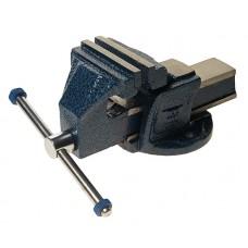 Тиски стальные G.S. стандарт 100мм, вес 4,5кг ЭВРИКА 78997