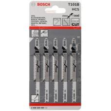 Пилки для лобзика 1шт T 101 B, HCS 2.608.630.030 2608630030