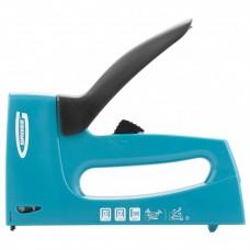 Степлер мебельный, пластиковый корпус,регулировка удара, тип скобы 13, 53, 300, 6-16мм// GROSS 41003