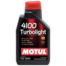 Масло 4100 Turbolight MOTUL 10W40 1л