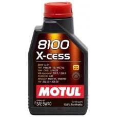 Масло 8100 X-cess SAE MOTUL 5W40 1л