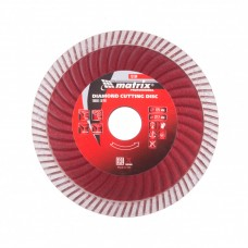 Диск алмазный 125*22,2мм отрезной Turbo Extra, сухая резка// MATRIX Professional 73194