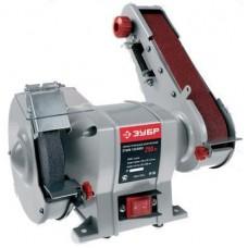 Точило ЗУБР заточной станок с шлифовальной лентой, d150 мм, 250 Вт ЗТШМ-150/686Л