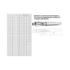 Цековка D 26,0 х d16,0*180 к/х Р6АМ5 с постоянной направляющей цапфой, КМ3
