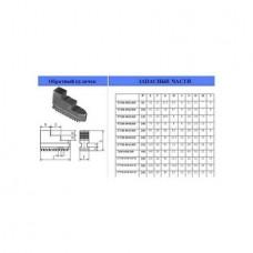 Кулачки обратные d250 D250 шаг 9мм ширина 28 до паза 11,5 паз 12мм 7100-0035.015