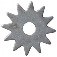 Шарошка d 50*2,0*14 (звездочка) сталь 20 закаленная, твердость 65HRC, тупозубая