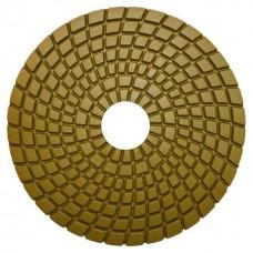 Алмазный гибкий шлиф.круг(черепашка) 125мм #150 мокрое шлифование СTБ-31200150