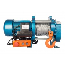 Лебедка электрическая TOR KCD-1000 E21 с канатом 100м 1002133