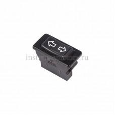 Выключатель (стеклоподъемника) клавишный 12V 20А (5с) (ON)-OFF-(ON)  черный  (ASW-01)  REXANT 36-4410