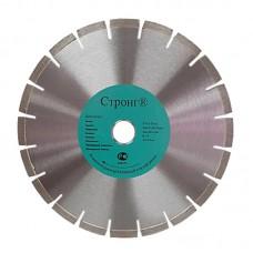 Диск алмазный 450*32*25,4*12 лазерная сварка режущего сегмента STRONG СТД-181